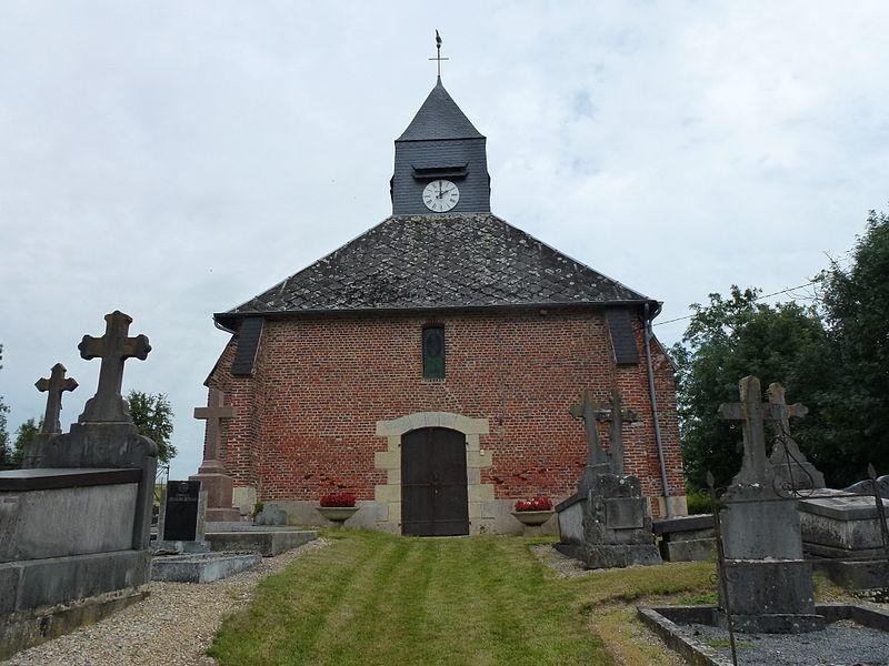Vaux-lès-Rubigny (Ardennes) église Saint-Sébastien