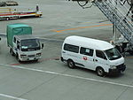 Vehicles of Okinawa Airport Service Company,.JPG
