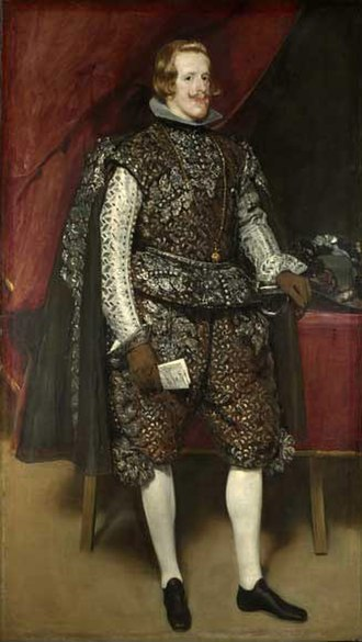 Diego Velázquez - Philip IV in Brown and Silver, 1632