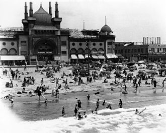 History of Santa Monica, California - Ocean Park Bathhouse