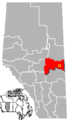 Vermilion, Alberta Location.png