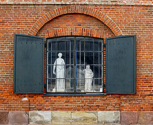 National Gallery of Denmark - A window at the West India Warehouse