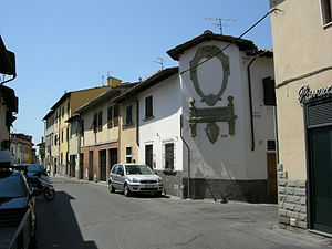 Peretola - A street in Peretola