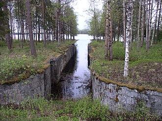 Maaninka - Old Vianta channel in Maaninka