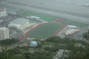 Victoria Stadium (Gibraltar) - Image: Victoria Stadium (Gibraltar)