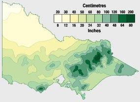 Victoria rainfall