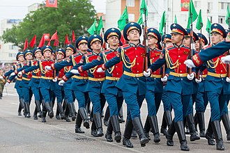 Armed Forces of Transnistria - The PMR Honour Guard