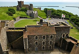 View South from Dover Castle keep.jpg