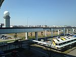 View from International Terminal of Fukuoka Airport 20160303.JPG