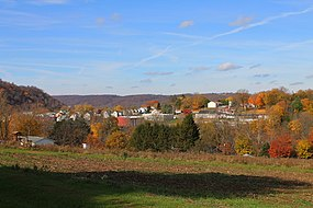 View of Catawissa, Pennsylvania from the southeast 2.JPG
