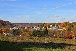 Catawissa, Pennsylvania - Catawissa from the southwest