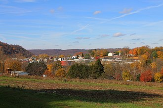 Catawissa, Pennsylvania - Catawissa from the southwest