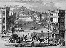 View of the Capitol, Montgomery, Alabama