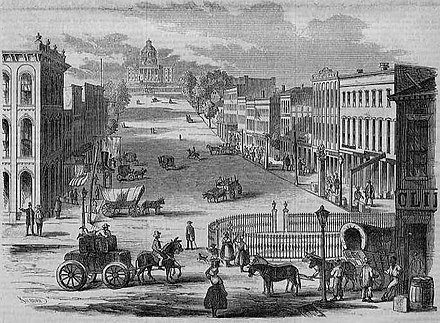 View of the Capitol, an engraving published in 1857 View of the Capitol, Montgomery, Alabama.jpg