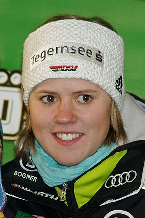 Viktoria Rebensburg - Rebensburg in December 2010