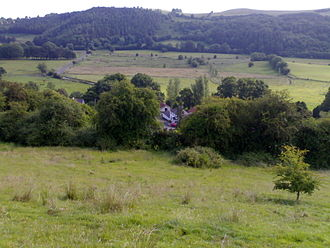 Fore Abbey - Image: Village de Fore