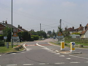Bulphan - Image: Village entrance, Bulphan, Essex