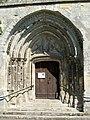 Villeneuve-sur-Verberie (60), église Saint-Barthélémy XIIIe e XVIe s., portail sud.jpg