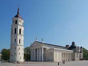 Religion in Lithuania - Vilnius Cathedral, is the heart of Catholic spiritual life in Lithuania.