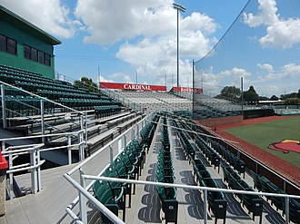 Vincent–Beck Stadium - Image: Vincent Beck Stadium chair back seating