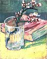 Vincent Van Gogh - Blossoming Almond Branch in a Glass with a Book (1888).jpg