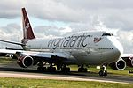 Virgin Atlantic Airways, Boeing 747-443, G-VROM (24723724004).jpg