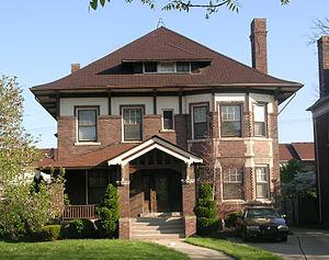 Virginia Park Historic District - Image: Virginia Park House 1