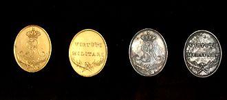 Virtuti Militari - Medals Virtuti Militari 1792