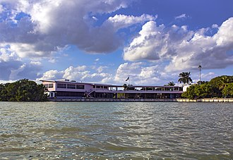 Flamingo, Monroe County, Florida - Flamingo Visitor Center Main Building