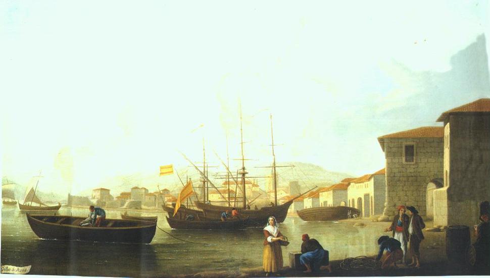 Vista de Muros por Mariano Ramón Sánchez