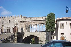 Viterbo, the Palace of the Popes