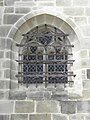 Vitré (35) Église Notre-Dame Grille de la sacristie.JPG