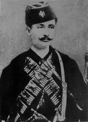 Vojislav Tankosić - Vojislav Tankosić in Chetnik gear.