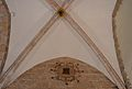 Volta i fresc d'escut, capella dels sants Antonis, claustre de la catedral de Sogorb.JPG