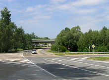 Votice, Javor, road No. 150, underpass.jpg