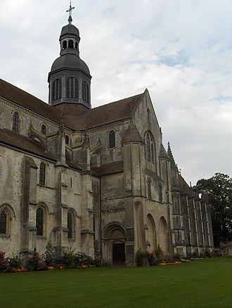 Saint-Germer-de-Fly Abbey - Former abbey church