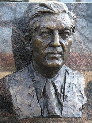 Přemysl Kočí - Bust of Přemysl Kočí at the Vyšehrad cemetery.