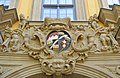 Würzburg - Wappen am Juliusspital (Altbau, Portal am Park).jpg