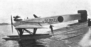 van berkel watervliegtuig