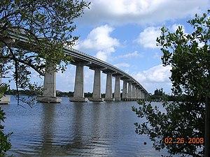 Wabasso Bridge - Image: Wabassobridge