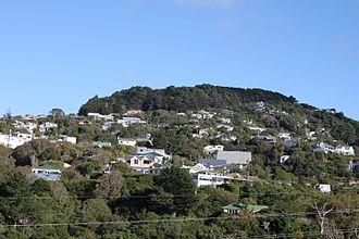 Wadestown, New Zealand - Wadestown and Tinakori Hill, looking from Ngaio