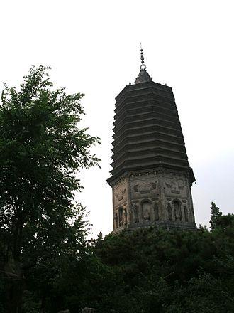 Liaoyang - White Pagoda (Baita) in Liaoyang