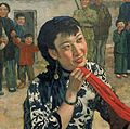 Wang Ying in Put Down Your Whip crop of Xu Beihongs painting.jpg
