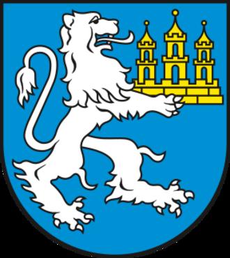 Bad Lauchstädt - Image: Wappen Bad Lauchstaedt