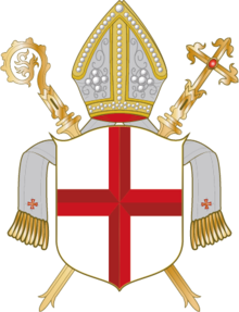 Coat of arms of the Diocese of Trier or Treves