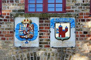 Nordertor - Image: Wappen auf dem Nordertor