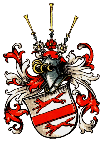 Kleist family - Coat of arms of the Kleist family
