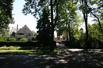 Edward Kirk Warren - Edward Kirk Warren's home in Evanston, Illinois