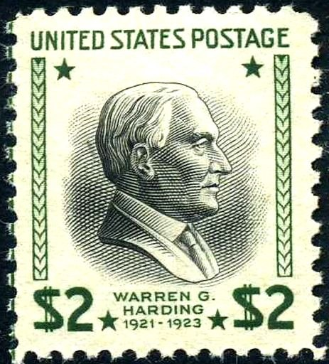 Warren G Harding 1938 Issue-$2
