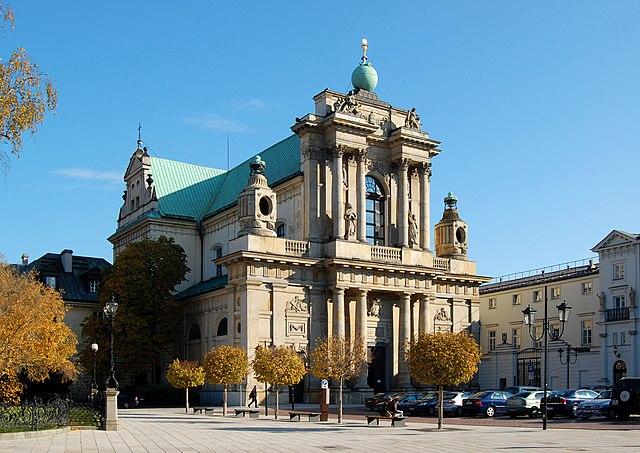Eglise des Carmélites à Varsovie - Photo de Marcin Białek